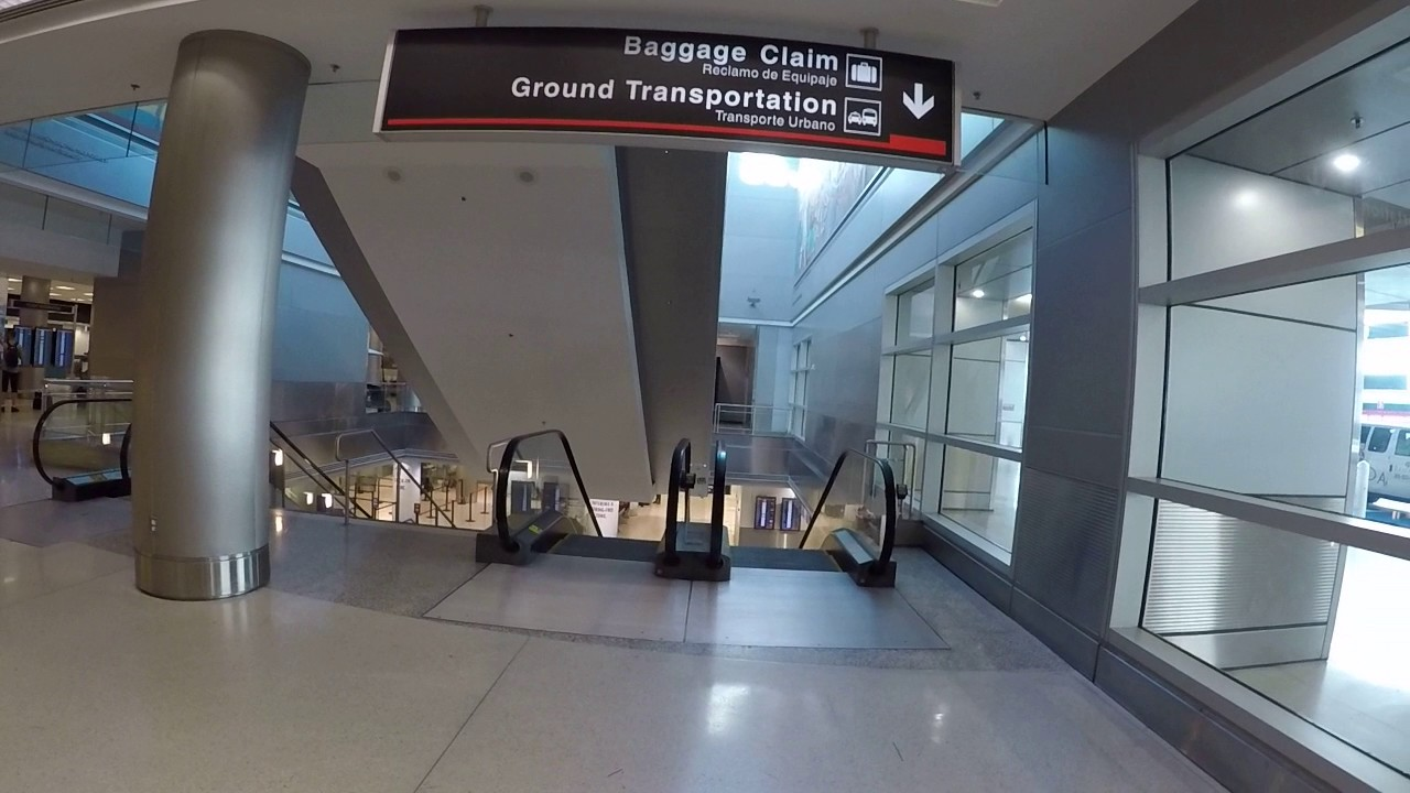 Miami International Airport Carnival Cruise Check In Youtube