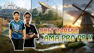 DUET AMA PRO PLAYER INDO !! - Rules of Survival Indonesia