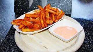 Rezept: Sweet Potato Fries (sÜßkartoffelpommes) Mit Chili Mayo Schnell & Einfach Selber Machen