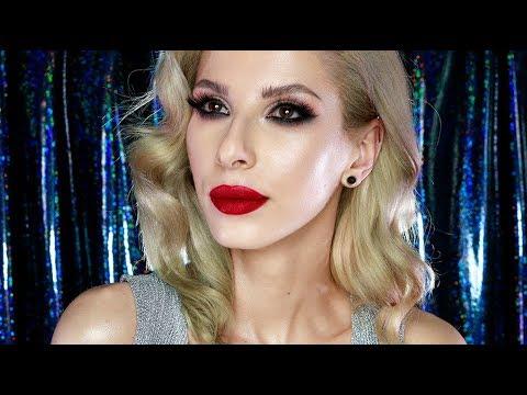 TEST NA ŻYWO | Makijaż Świąteczny WIBO|Martyna Molenda