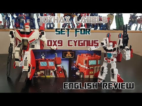 Video Review For Toyhax Labels Set For DX9 Cygnus