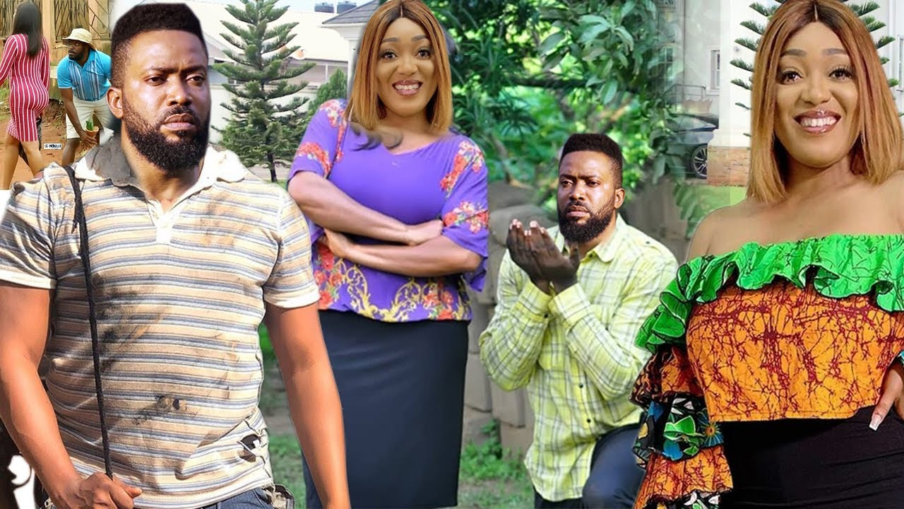 Download The Young President Pretend As A Poor Beggar To Find A Wife-Fredrick Leonard/Peggy Ovire 2021 Movie