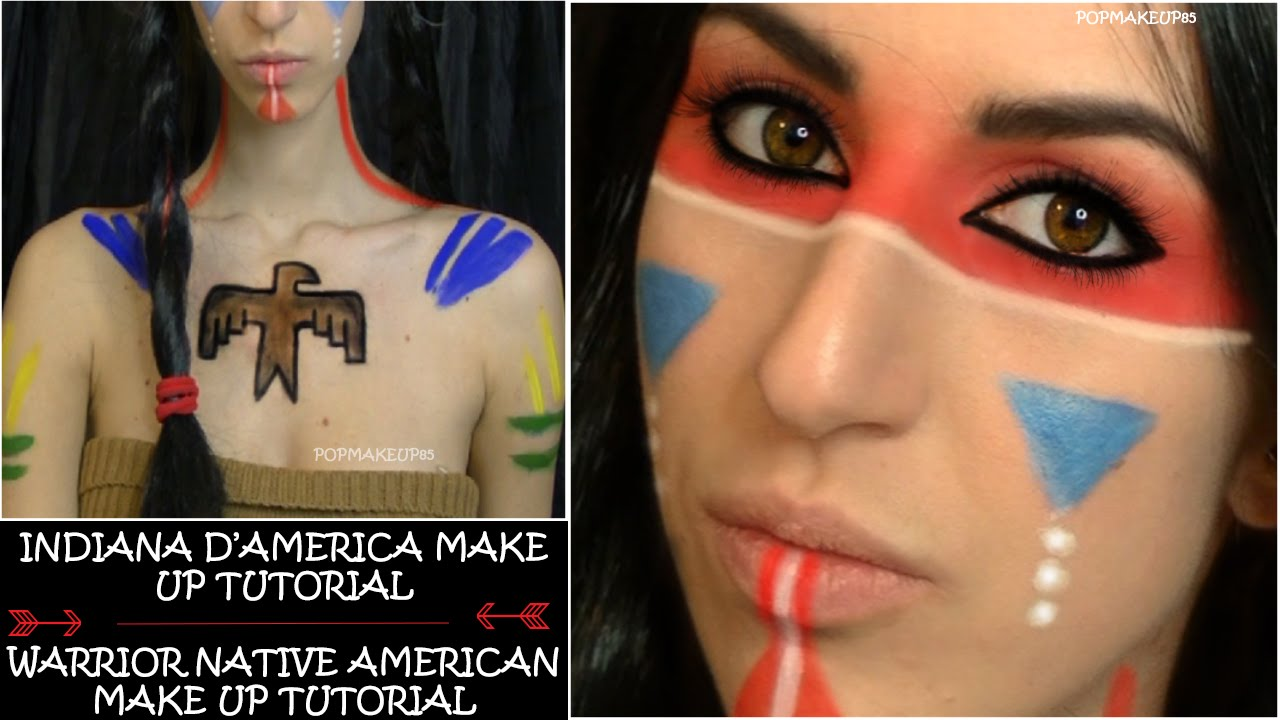 Amato Trucco carnevale SEMPLICE : Indiana d'America - Carnival Make up  SI58
