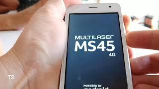 Formatar hard reset celular Multilaser ms45 4g