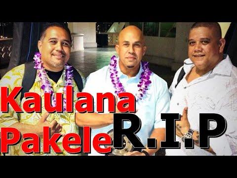 Kaulana Pakele Dies At 47 Mana'o Company Lead Singer