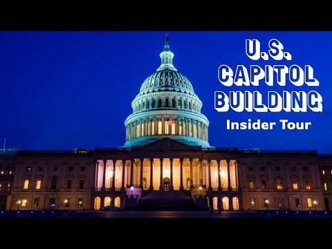 Insider Tour Of The US Capitol Building June 2019