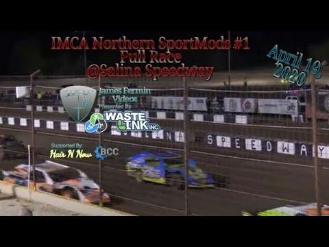 IMCA (Northern) SportMods #1, Full Race, Salina Speedway, 04/19/19