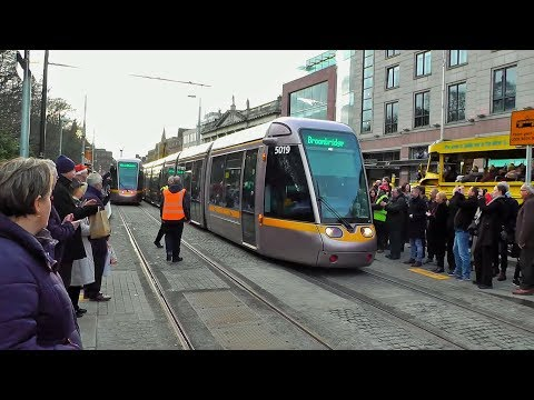 Luas Cross City opens for business