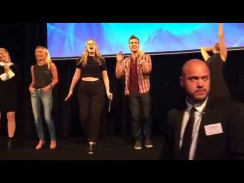 Let it go sing along with the Once Upon A Time  cast