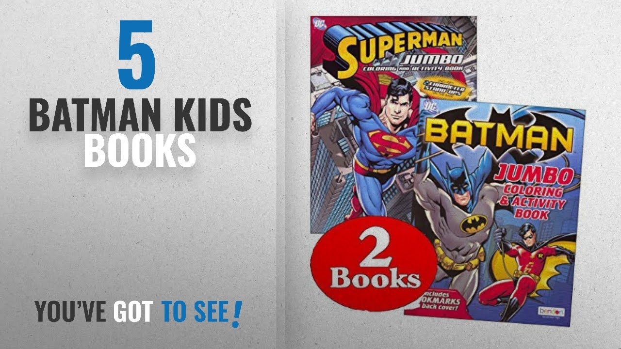 Top 10 Batman Kids Books 2018 Dc Comics Batman Superman