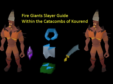 Oldschool Runescape - Fire Giants Slayer Guide within the ...