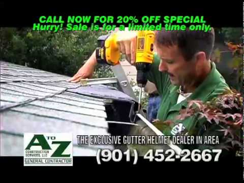 video:Gutter Helmet 20% off Special