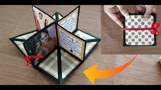 DIY square circular pop up greeting card|crafts villa