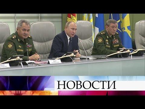 Минобороны провело испытание новейшего российского гиперзвукового оружия - комплекса «Авангард».
