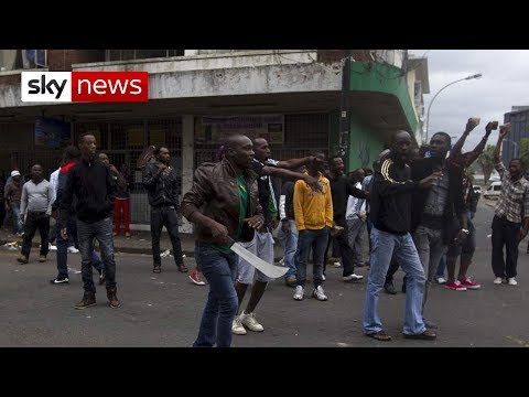 Xenophobic violence in South Africa