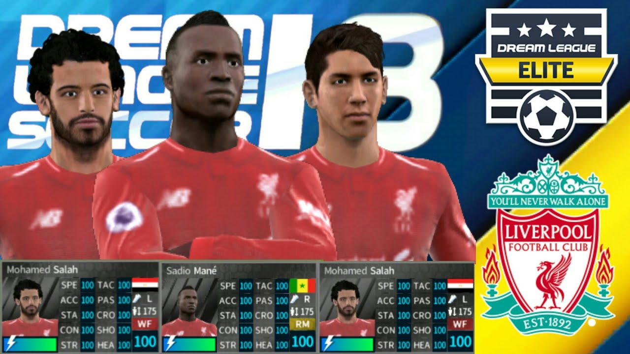 HACK LIVERPOOL 2018-19 All Players 100 Dream League Soccer 2018 - ELITE  DIVISION