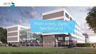 Het nieuwe kantoorgebouw van Mercedes-Benz Nederland - werk in uitvoering