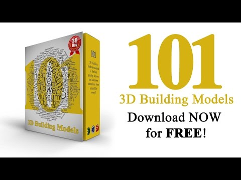 Get 101 Free 3D Building Models!