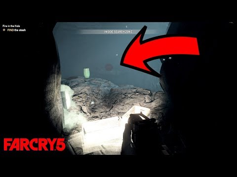 Another Creepy Mine In Far Cry 5 (Creepy Crying Angels) HD