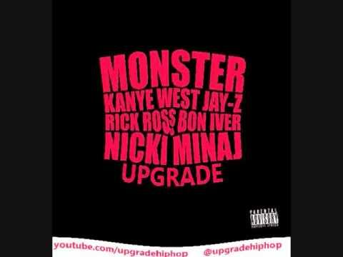 Kanye West Nikki Minaj Jay Z Rick Ross MONSTER - U...