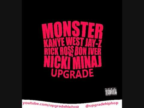Kanye West Nikki Minaj Jay Z Rick Ross MONSTER - Upgrade REMIX.wmv