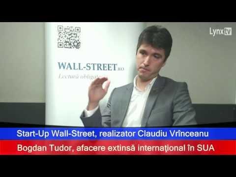 Bogdan Tudor, afacere extinsă internaţional în SUA (www.RadioLYNX.ro)