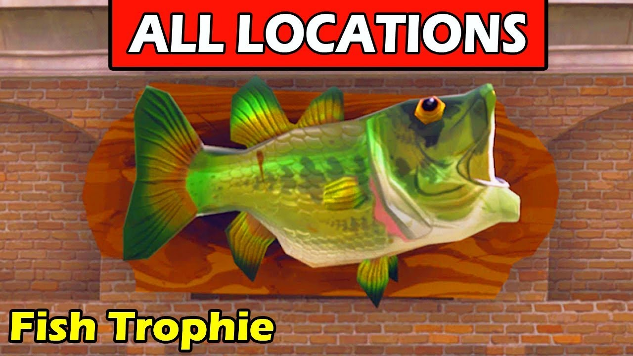 Dance With A Fish Trophy At Different Named Locations All 7
