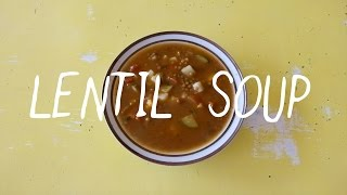 Cooking With Agape - Vegetable Lentil Soup