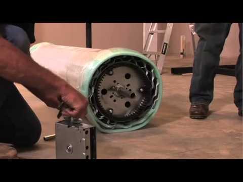 Garage Doors Garador R1 Roll A Door Installation Part 2