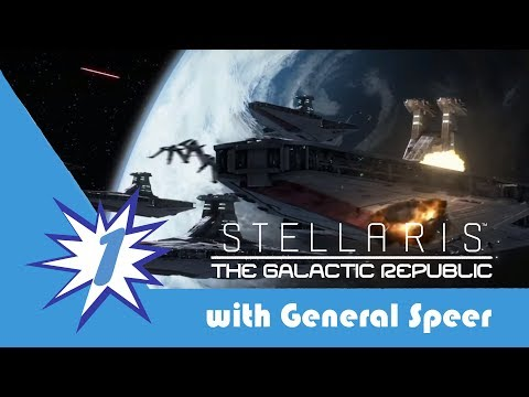 Stellaris The Galactic Republic Episode 1: A Republic Is Born