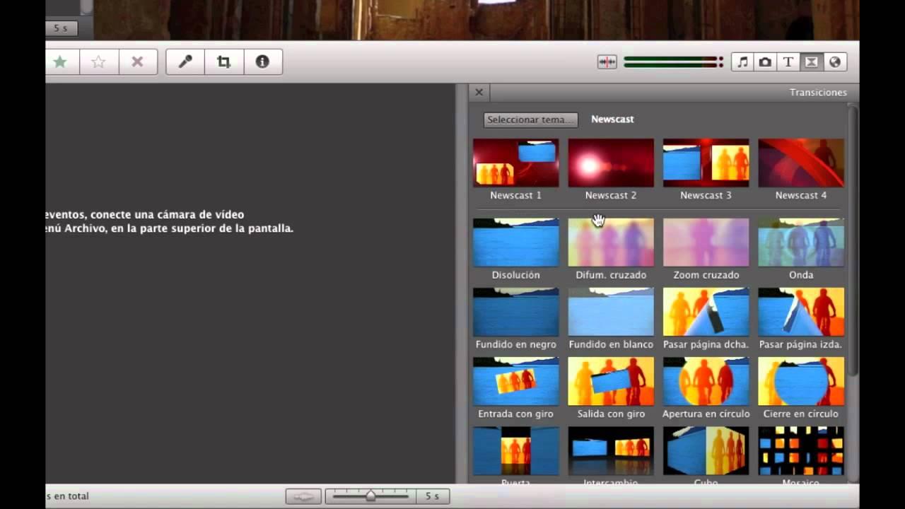 Todo sobre iMovie - Utilizar los temas de iMovie como recursos - YouTube