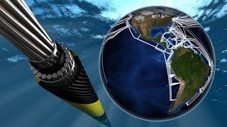 Optické kabely v oceánu: tudy doopravdy teče internet
