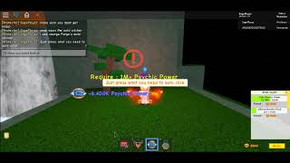 SuperPower Training SImulator|How to Get psychic power afk|Roblox