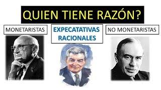 Friedman vs Keynes vs Lucas - Que Politicas Economicas son acertadas en el contexto actual?