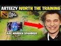 Arteezy Worth the Arc Warden Spamming - EG vs VG The Kuala Lumpur Major