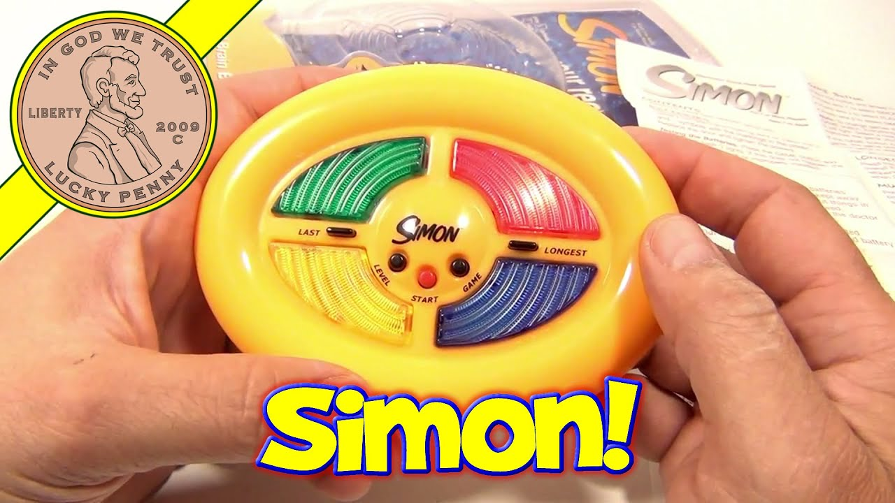 Simon Mini Pocket Electronic Handheld Game 2002 Milton Bradley