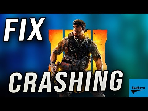 Black Ops 4 Blackout - How to Fix Crashing when Loading & Playing