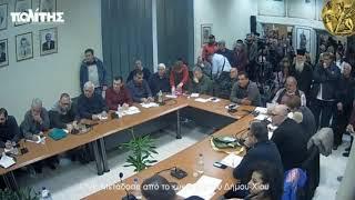Ομιλια Ν. Μηταράκη στο Δημοτικό Συμβούλιο Χίου 13/01/2020