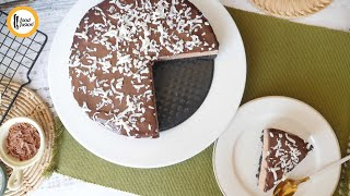 No bake Chocolate Cheese Cake Recipe By Food Fusion