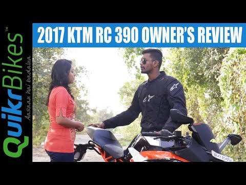 2017 KTM RC 390 Long Term Ownership Review | Top Speed, Mileage, Maintenance