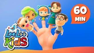 Finger Family - Fantastic Songs for Children | LooLoo Kids