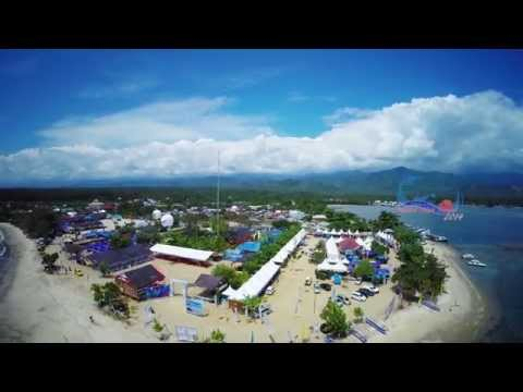 [HD] Aerialvideo Festival Teluk Tomini 2014 - Parigi Moutong