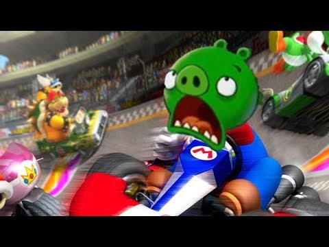 Minion Pig Plays: MarioKart 8 Deluxe |