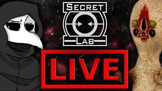 SCP Secret Laboratory z Eybim i Widzami! - Na żywo