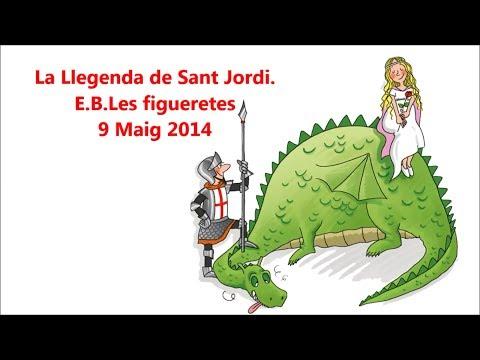 La llegenda de Sant Jordi 2014. E.B. Les Figueretes. 09/05/2014