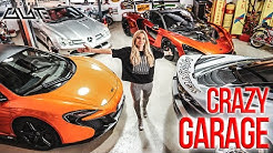 Die verrückteste Garage der Welt?! Supercars & Spielhalle