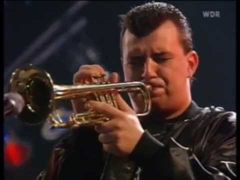 Carl Fischer soloing with the Maynard Ferguson Big Bop Nouveau Band