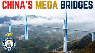 China's Mega Bridges UNPRECEDENTED!!  Hans Zimmer - Time (Alan Walker) 前所未有的大桥梁  添加了中文字幕