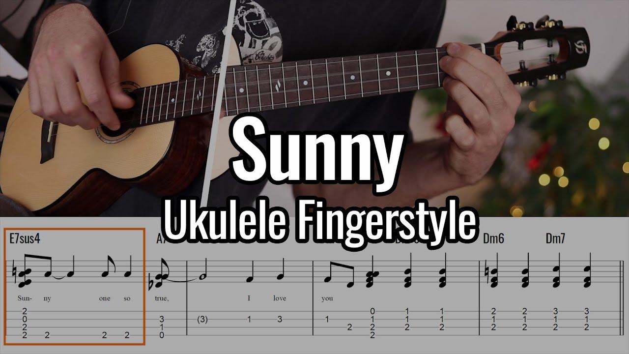 Bobby Hebb - Sunny (Ukulele Fingerstyle) - Short Version