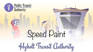 Speed Painting - Hybolt Transit Authority